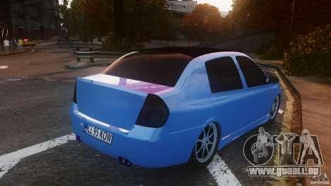 Renault Clio Tuning für GTA 4 hinten links Ansicht