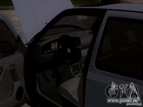 Volkswagen Golf 3 VR6 für GTA San Andreas Rückansicht
