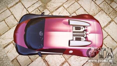 Bugatti Veyron 16.4 v3.0 2005 [EPM] Machiavelli für GTA 4 rechte Ansicht