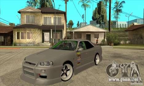 Nissan Skyline Er34 Street Drift pour GTA San Andreas