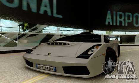 Lamborghini Gallardo für GTA San Andreas Rückansicht