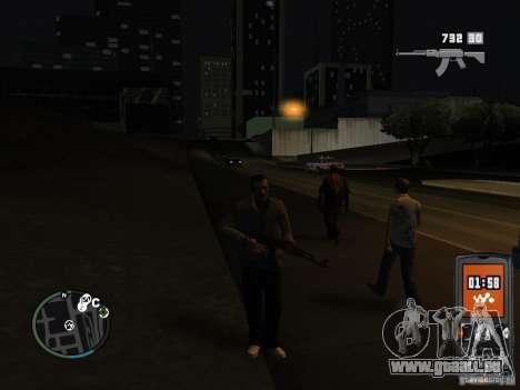 HUD et les armes de GTA IV pour GTA San Andreas