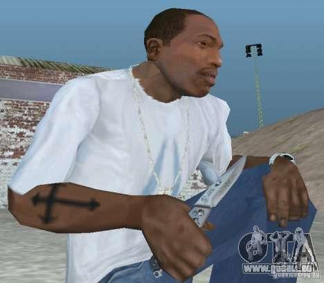 Messer für GTA San Andreas zweiten Screenshot
