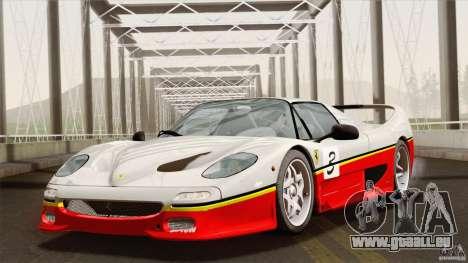 Ferrari F50 v1.0.0 Road Version pour GTA San Andreas vue de dessus