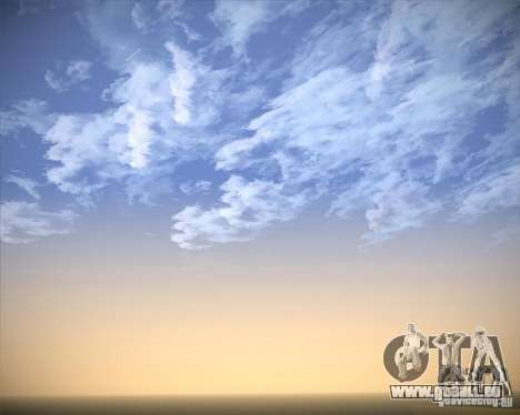Real Clouds HD für GTA San Andreas