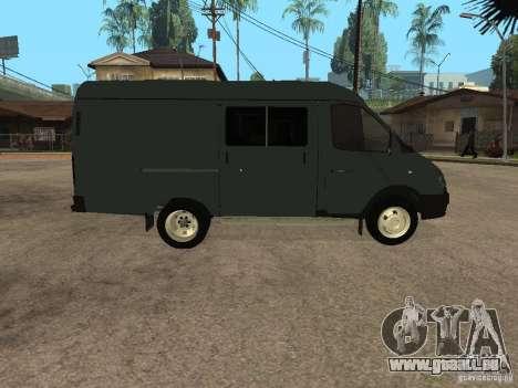 Business Gazelle 2705 pour GTA San Andreas vue de droite