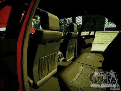 Mercedes-Benz S-Class W140 für GTA San Andreas Innenansicht