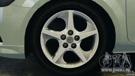 Kia Ceed 2011 für GTA 4 Innenansicht