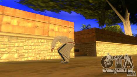 BrakeDance mod für GTA San Andreas siebten Screenshot