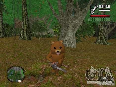 Crazy Bear für GTA San Andreas zweiten Screenshot