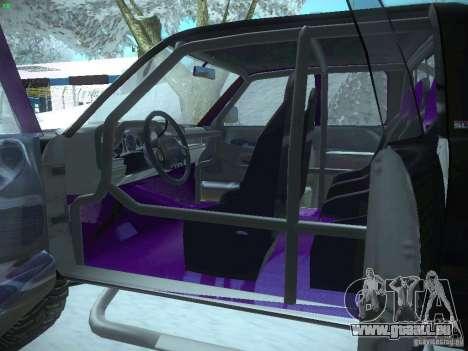 Dodge Ram Prerunner pour GTA San Andreas vue de côté