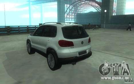 Volkswagen Tiguan 2012 für GTA San Andreas linke Ansicht