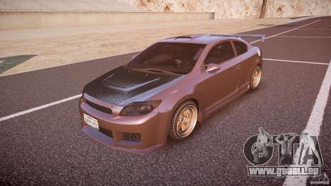 Toyota Scion TC 2.4 Tuning Edition pour GTA 4