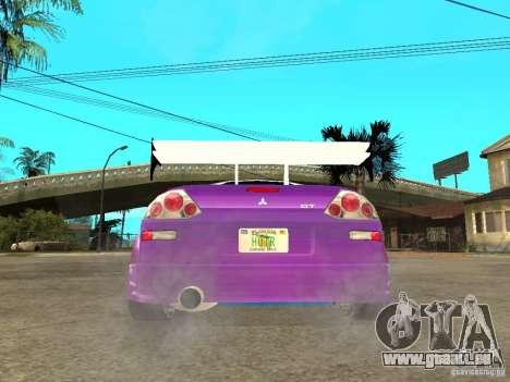 Mitsubishi Spider für GTA San Andreas zurück linke Ansicht