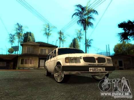 GAZ VOLGA 310221 TUNING version für GTA San Andreas