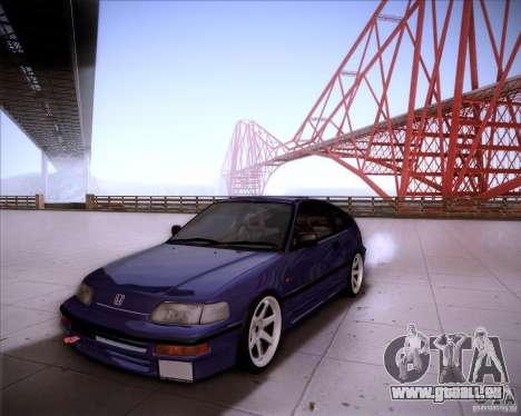 Honda Civic CRX JDM pour GTA San Andreas