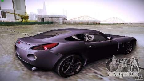 Pontiac Solstice für GTA San Andreas linke Ansicht