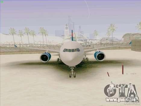 Airbus A330-200 pour GTA San Andreas vue de droite