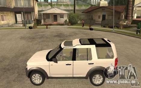 Land Rover Discovery 3 V8 für GTA San Andreas linke Ansicht