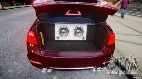 BMW 335i 2013 v1.0 pour GTA 4 est une vue de l'intérieur