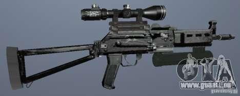 Pistolet-mitrailleur Bizon pour GTA San Andreas