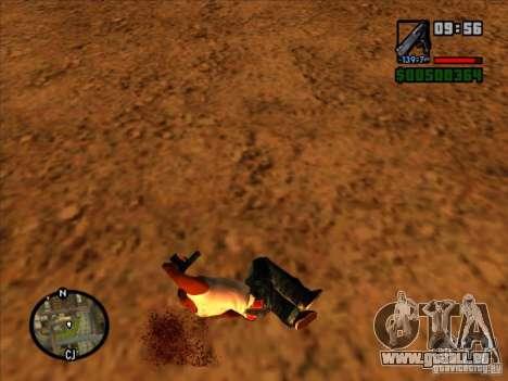 Ordures de l'explosion pour GTA San Andreas cinquième écran