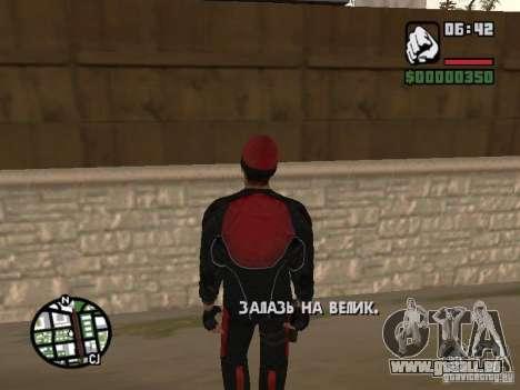 Skydiver für GTA San Andreas zweiten Screenshot