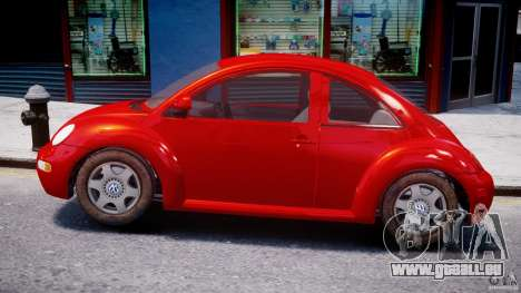 Volkswagen New Beetle 2003 pour GTA 4 est une gauche