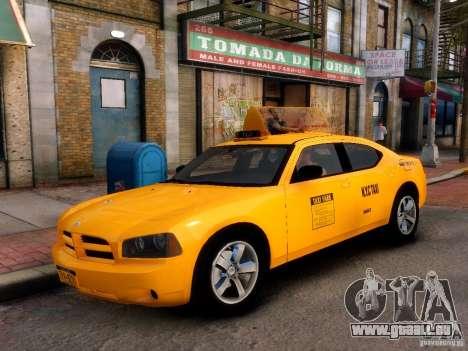 Dodge Charger NYC Taxi V.1.8 für GTA 4 rechte Ansicht