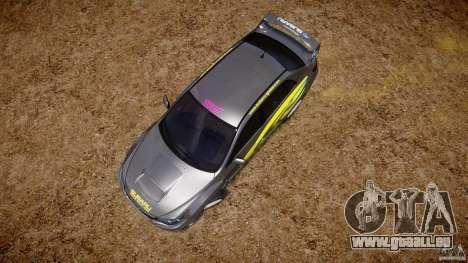 Subaru Impreza WRX STi 2011 Subaru World Rally für GTA 4 Innen