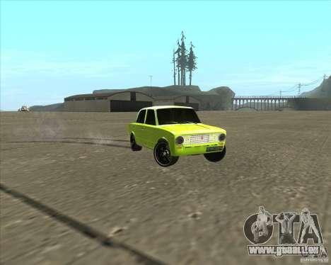 VAZ 2101 Auto tuning version für GTA San Andreas rechten Ansicht