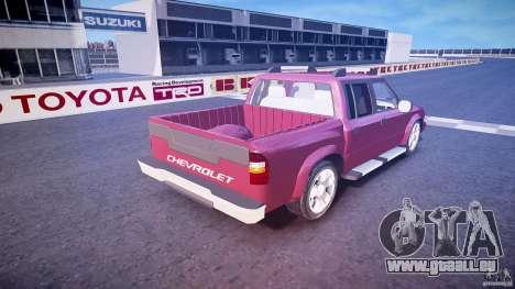 Chevrolet S10 für GTA 4 obere Ansicht