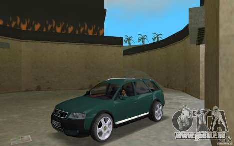 Audi Allroad Quattro für GTA Vice City