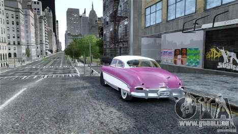 Hudson Hornet Coupe 1952 pour GTA 4 est une gauche