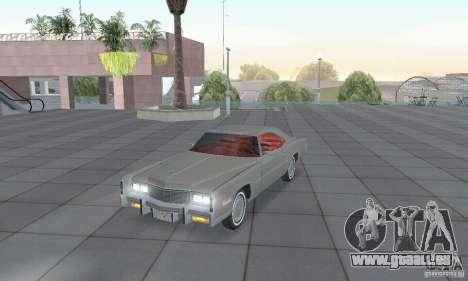 Cadillac Eldorado Convertible 1976 für GTA San Andreas linke Ansicht