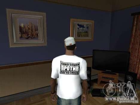 T-shirt avec Homer pour GTA San Andreas deuxième écran
