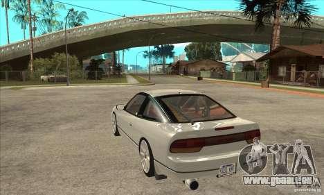 Nissan Silvia S14 1993 für GTA San Andreas zurück linke Ansicht