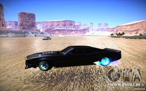 Ford Mustang RTR Drift für GTA San Andreas Rückansicht