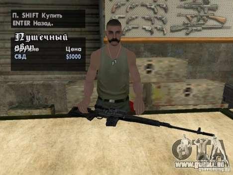 Pak-Inland-Waffen für GTA San Andreas zwölften Screenshot
