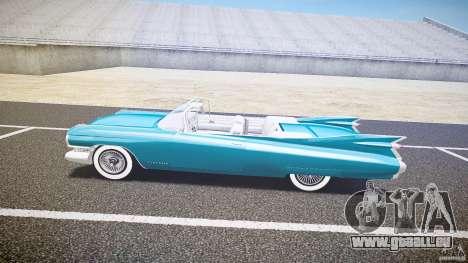 Cadillac Eldorado 1959 interior white pour GTA 4 Vue arrière de la gauche