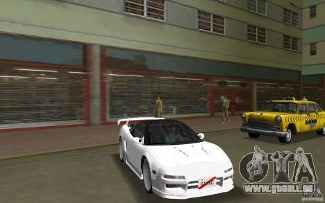 Honda NSX 1991 für GTA Vice City rechten Ansicht