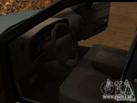 Mercury Sable GS 1989 pour GTA San Andreas vue arrière