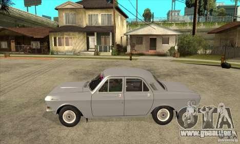 GAZ Volga 24 pour GTA San Andreas laissé vue
