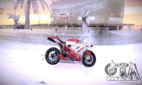 Ducati 1098 pour GTA San Andreas vue de côté