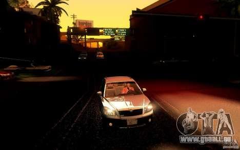 Skoda Octavia Scout pour GTA San Andreas vue de droite