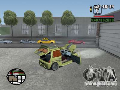 1111 OKA (tuning) für GTA San Andreas rechten Ansicht