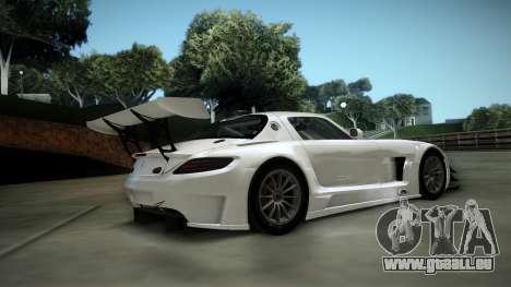 Mercedes-Benz SLS AMG GT3 für GTA San Andreas Rückansicht