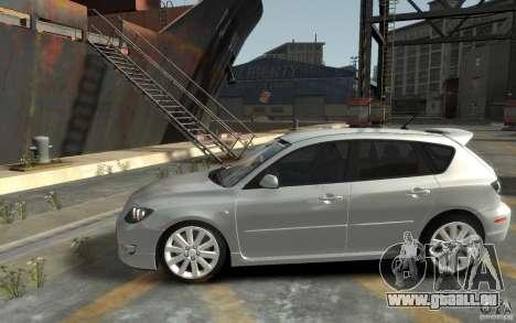 Mazda 3 für GTA 4 linke Ansicht