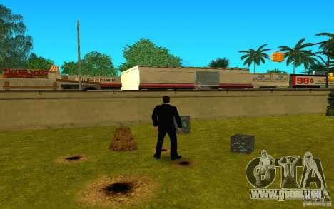 Minerai de diamant provenant du jeu Minecraft pour GTA San Andreas quatrième écran