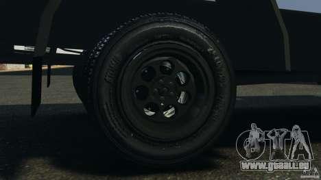 Chevrolet Yankee v1.0 [Beta] pour GTA 4 est une vue de l'intérieur